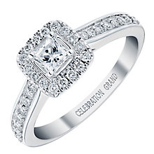 Celebration Grand 18ct White Gold 1/2 Carat Diamond Ring - Product number 3773361