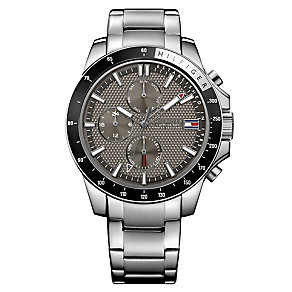 Tommy Hilfiger Gent's' Black Chorongraph Watch - Product number 3773752