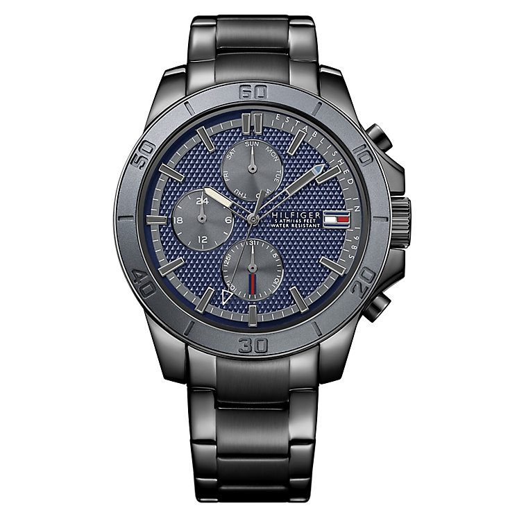 Tommy Hilfiger Gent's' Blue Chronograph Watch - Product number 3773884