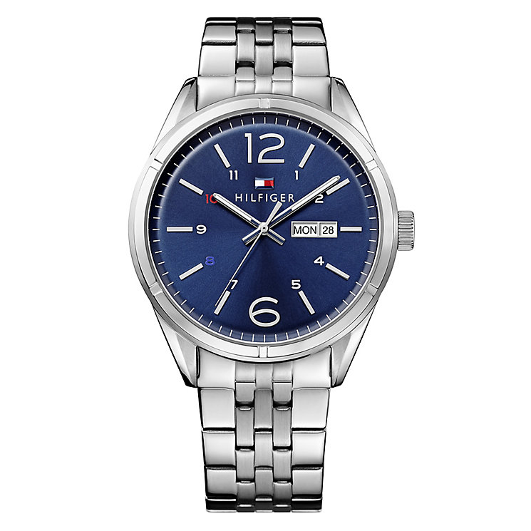 Tommy Hilfiger Gent's' Blue Dial Chronograph Watch - Product number 3773949