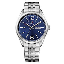 Tommy Hilfiger Men's Blue Dial Chronograph Watch - Product number 3773949