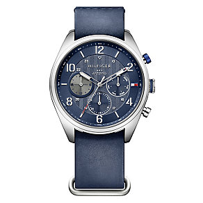 Tommy Hilfiger Gent's' Black Dial Pilots Watch - Product number 3774015