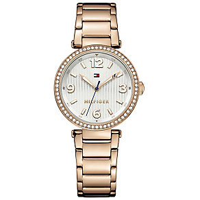 Tommy Hilfiger Ladies' Rose Gold-Plated Bracelet Watch - Product number 3774031