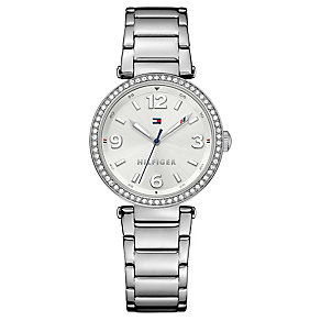 Tommy Hilfiger Ladies' Silver Stainless Steel Watch - Product number 3774090