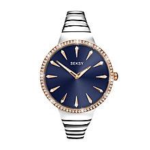 Seksy Ladies' Stainless Steel Bracelet Watch - Product number 3776859