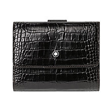 Montblanc black five card slot wallet and coin - Product number 3777308