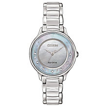 Citizen Eco-Drive Ladies' Stainless Steel Bracelet Watch - Product number 3777510