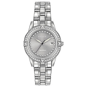 Citizen Eco-Drive Ladies' Stainless Steel Bracelet Watch - Product number 3777588