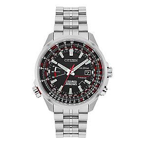 Citizen Eco-Drive Red Arrows Men's Titanium Bracelet Watch - Product number 3777669