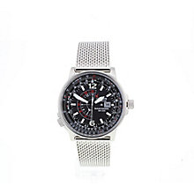 Citizen Eco-Drive Nighthawk Men's Steel Bracelet Watch - Product number 3777677