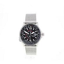 Citizen Eco-Drive Nighthawk Men's Steel Bracelet Watch - Product number 3777677