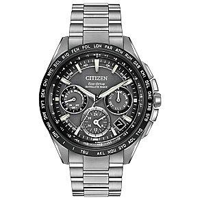 Citizen Eco-Drive Satellite Wave Men's Bracelet Watch - Product number 3777685