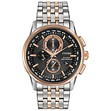 Citizen Eco-Drive Radio Controlled Men's Bracelet Watch - Product number 3777944