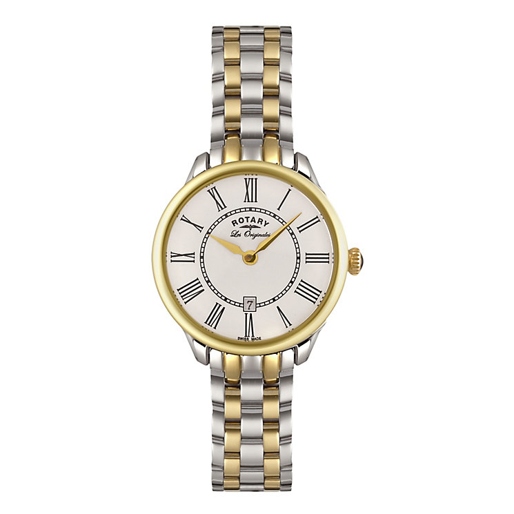 Rotary Ladies' Gold Plated Stainless Steel Bracelet Watch - Product number 3780392