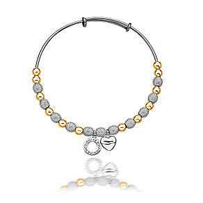 Emozioni Ula gold and silver-plated bangle - Product number 3783154