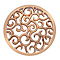 Emozioni rose gold-plated Winding Path coin - Product number 3784061