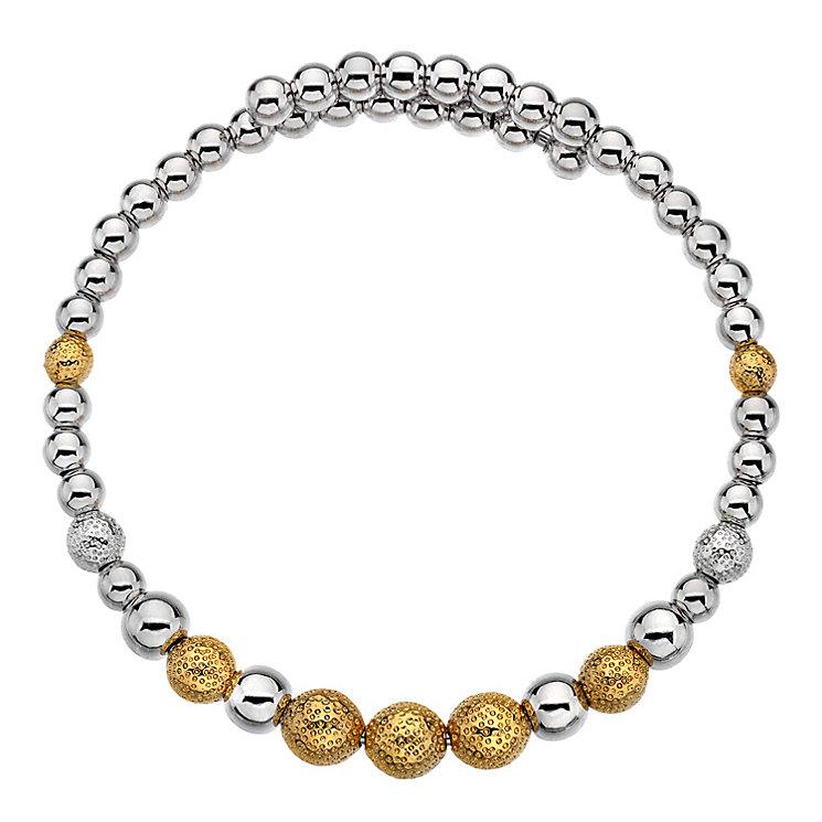 Emozioni Ula gold-plated wrap bangle - Product number 3784169