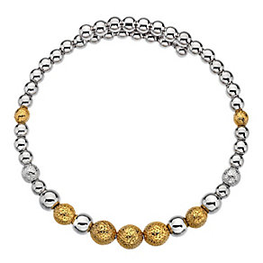 Emozioni Ula gold-plated wrap bangle - Product number 3784169