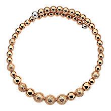 Emozioni Ula rose gold-plated wrap bangle - Product number 3784215