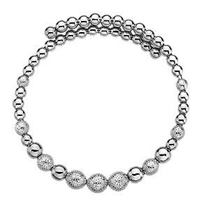 Emozioni Ula silver-plated wrap bangle - Product number 3784258