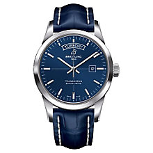 Breitling Transocean Day and Date Men's Strap Watch - Product number 3787281