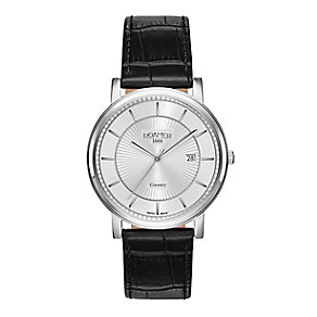 Roamer Men's Stainless Steel Leather Strap Watch - Product number 3787990
