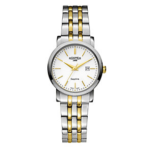 Roamer Ladies' Two Colour White Bracelet Watch - Product number 3788083