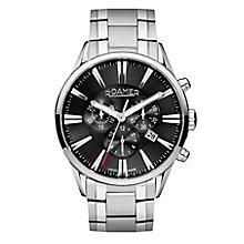 Roamer Men's Stainless Steel Chrome Bracelet Watch - Product number 3788113