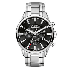 Roamer Men's Stainless Steel Chrome Bracelet Watch - Product number 3788113