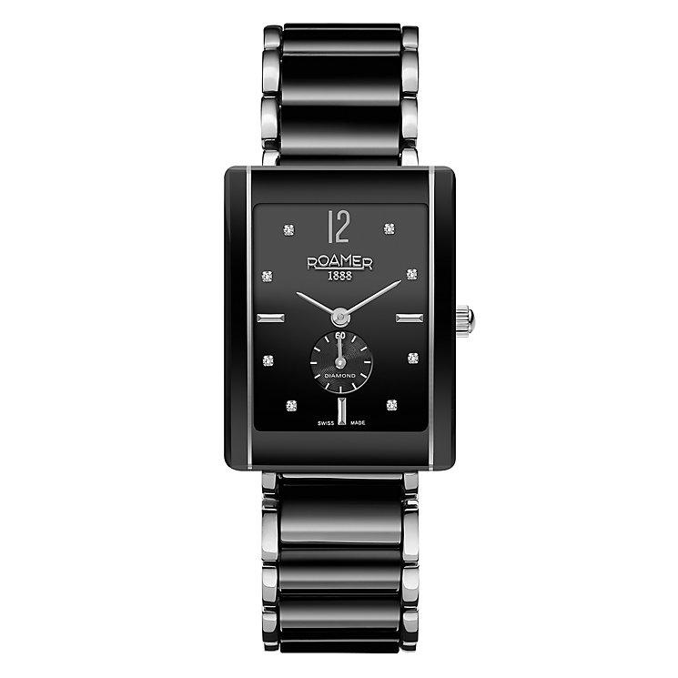 Roamer  Ceraline Saphira Men's Bracelet Watch - Product number 3788296