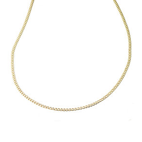 "24"" 9ct solid gold curb chain - Product number 3789632"