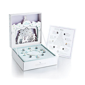 Chamilia Sterling Silver Nutcracker Bead Set With 10 Charms - Product number 3789993
