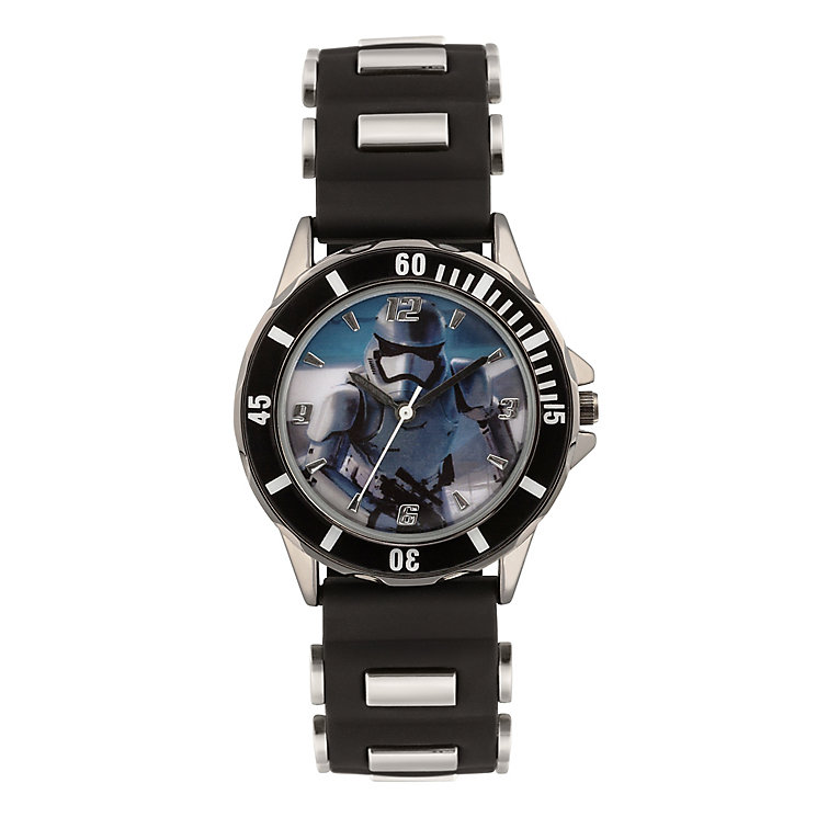 Star Wars Childs Black Storm Trooper Analogue Watch - Product number 3794040