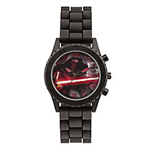 Star Wars Childs Black Kylo Ren Analogue Watch - Product number 3794067