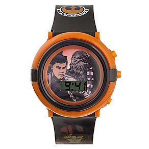 Star Wars Jedi Black Strap LCD Watch - Product number 3794075
