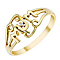 9ct Gold Cubic Zirconia Set 'Mum' Ring - Product number 3796418