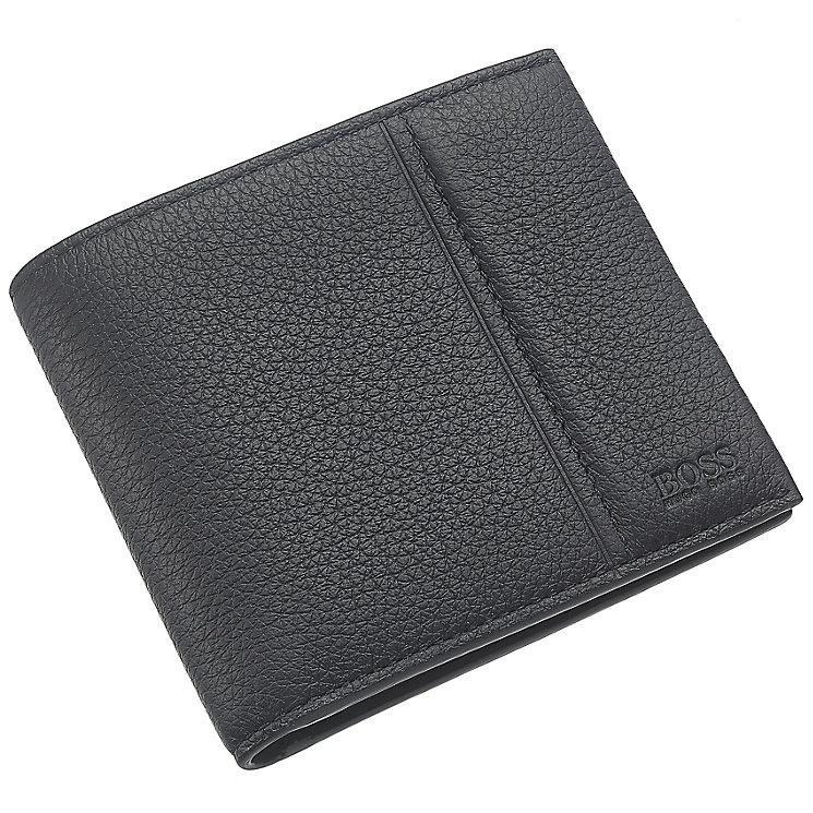 Hugo Boss Black Leather Travel Wallet - Product number 3796655