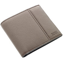 Hugo Boss Brown Leather Travel Wallet - Product number 3796698