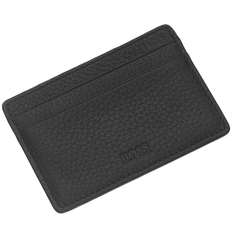Hugo Boss Black Leather Travel Card Holder - Product number 3796701