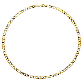 "9ct Gold 20"" Curb Necklace - Product number 3800881"