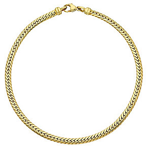 "9ct Gold 7.5"" Snake Chain Bracelet - Product number 3801217"