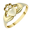9ct Gold Claddagh Ring - Product number 3803090