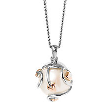 Clogau Gold Silver & 9ct Gold Pearl Tree Of Life Pendant - Product number 3805255