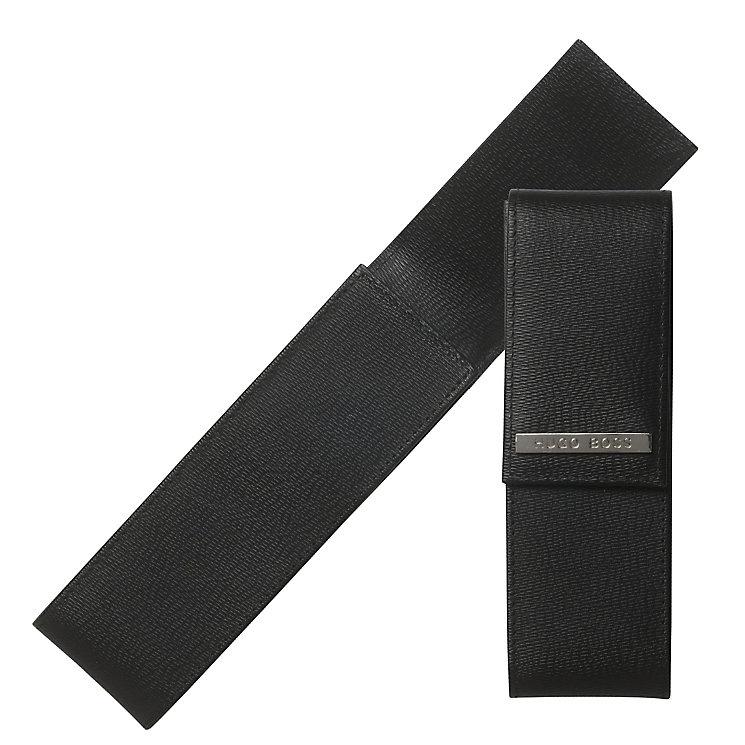 Hugo Boss Advance black leather pen case - Product number 3806960