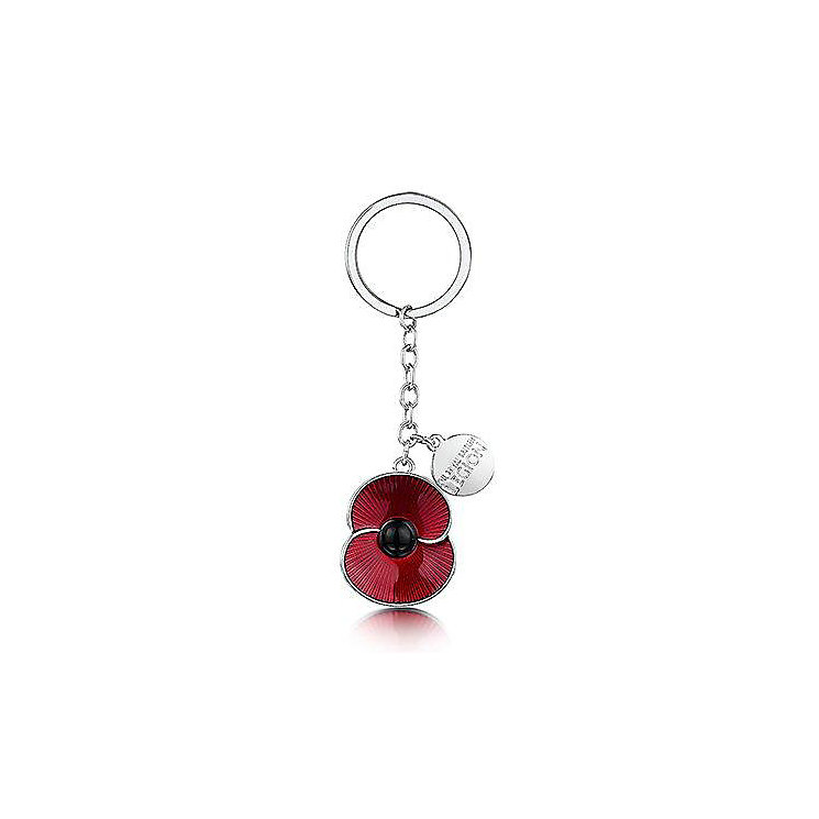 The Poppy Collection Red Poppy Charm Keyring - Product number 3808491