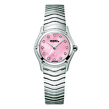 Ebel Wave Ladies' Stainless Steel Bracelet Watch - Product number 3808505