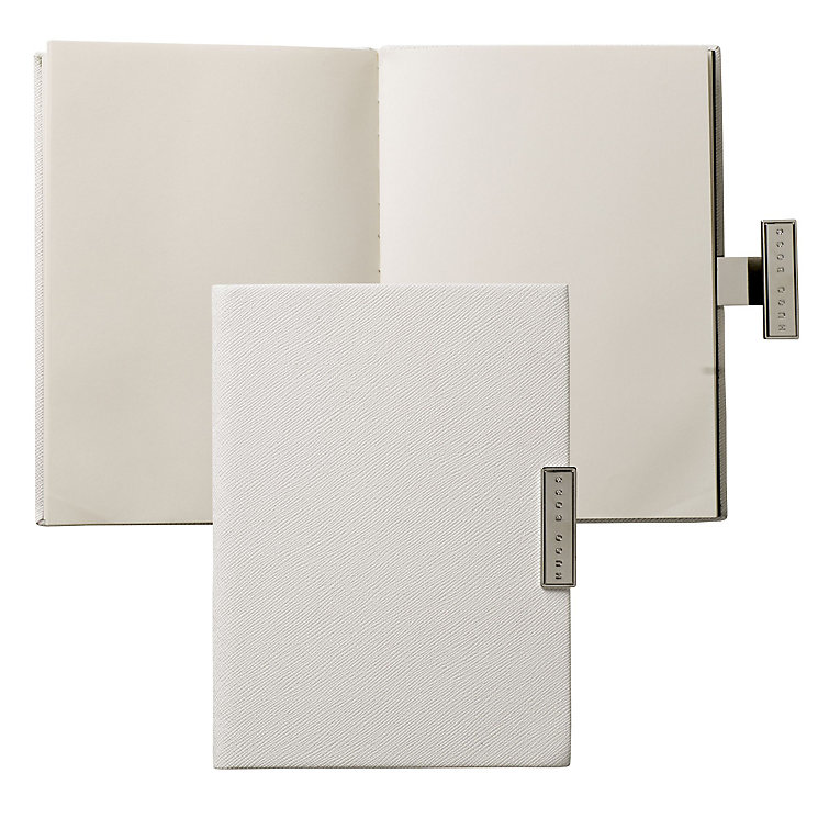 Hugo Boss Saffiano cream A6 notebook - Product number 3809943