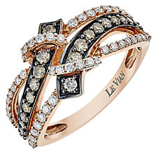Le Vian 14ct Strawberry Gold Diamond Gladiator ring - Product number 3811557