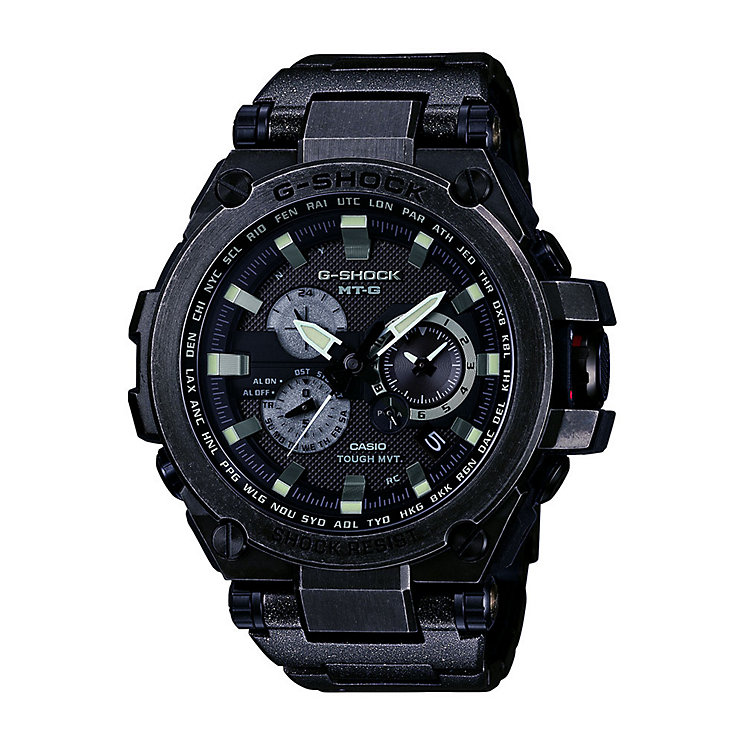 Casio MTG men's ion-plated bracelet watch - Product number 3814386