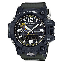 Casio G-Shock Mudmaster men's black rubber strap watch - Product number 3814408